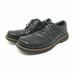 Merrell Realm Black Leather Lace Oxford Shoes, 8.5